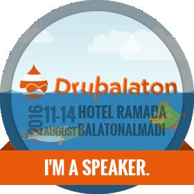 Drupalaton 2016 - I am a speaker