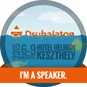Drupalaton 2015 - I am a speaker