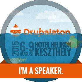 Drupalaton 2015 - I am a speaker